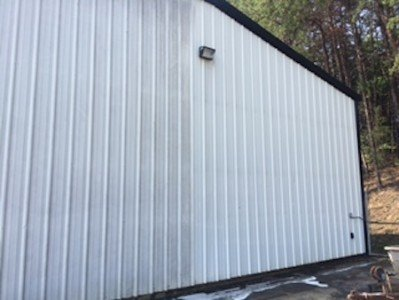 Siding pressure washing before after0